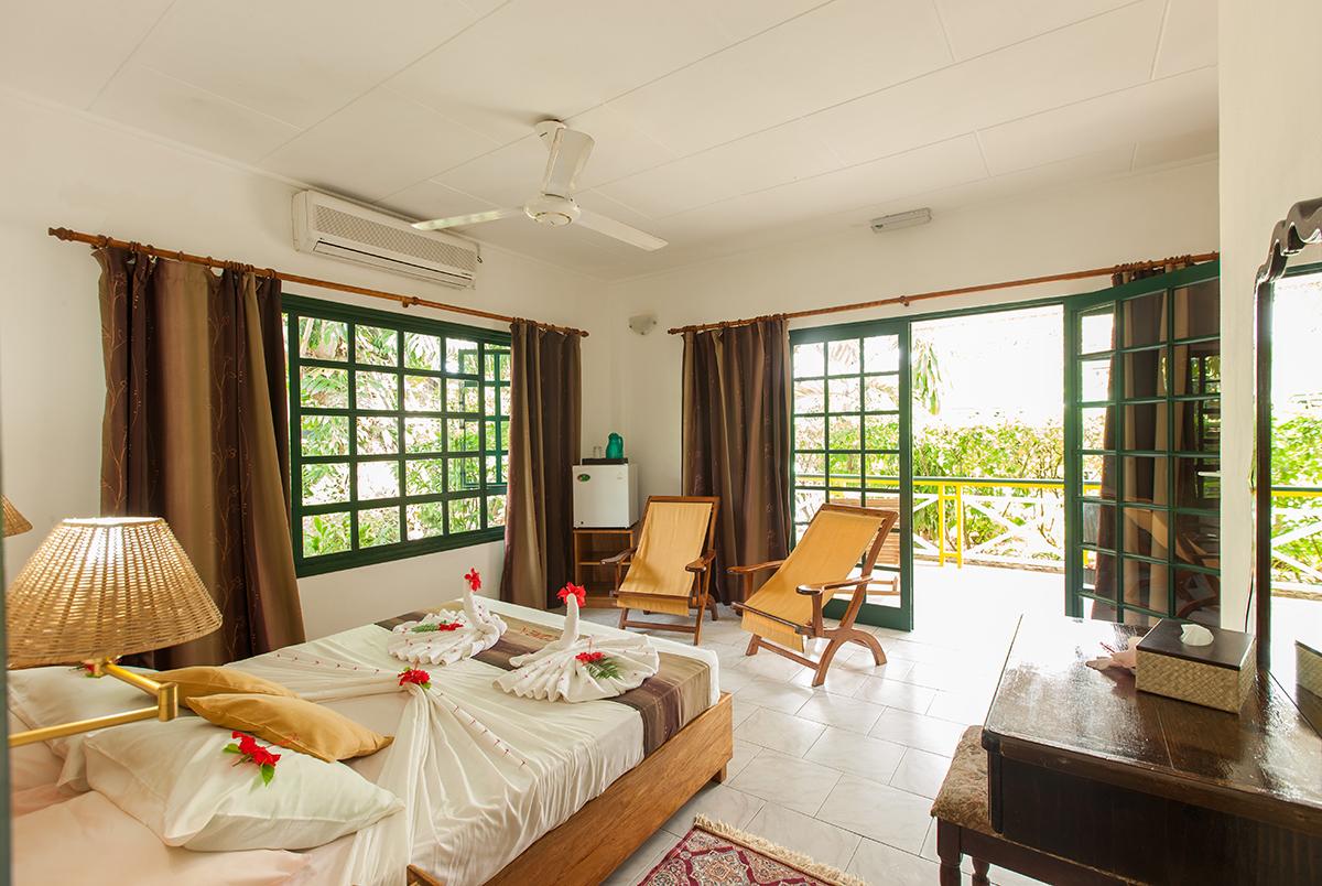 Unterkunft La Digue, Pension Michel, Seychellen