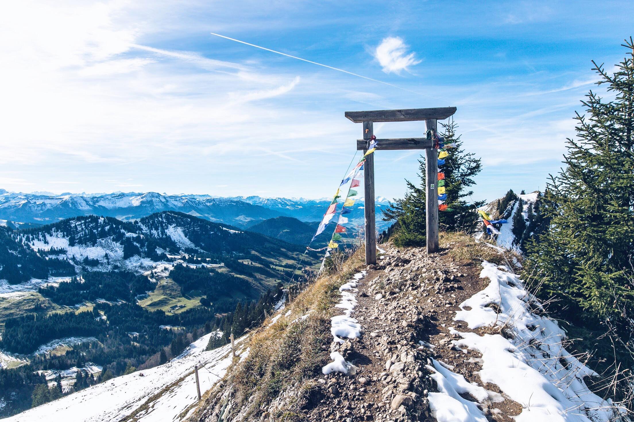 Hochgrat Wanderung, Oberstaufen, Nagelfluhkette