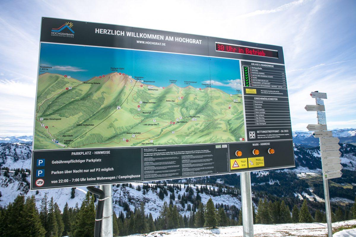 Hochgrat, Oberstaufen Steigis, Wandern am Hochgrat