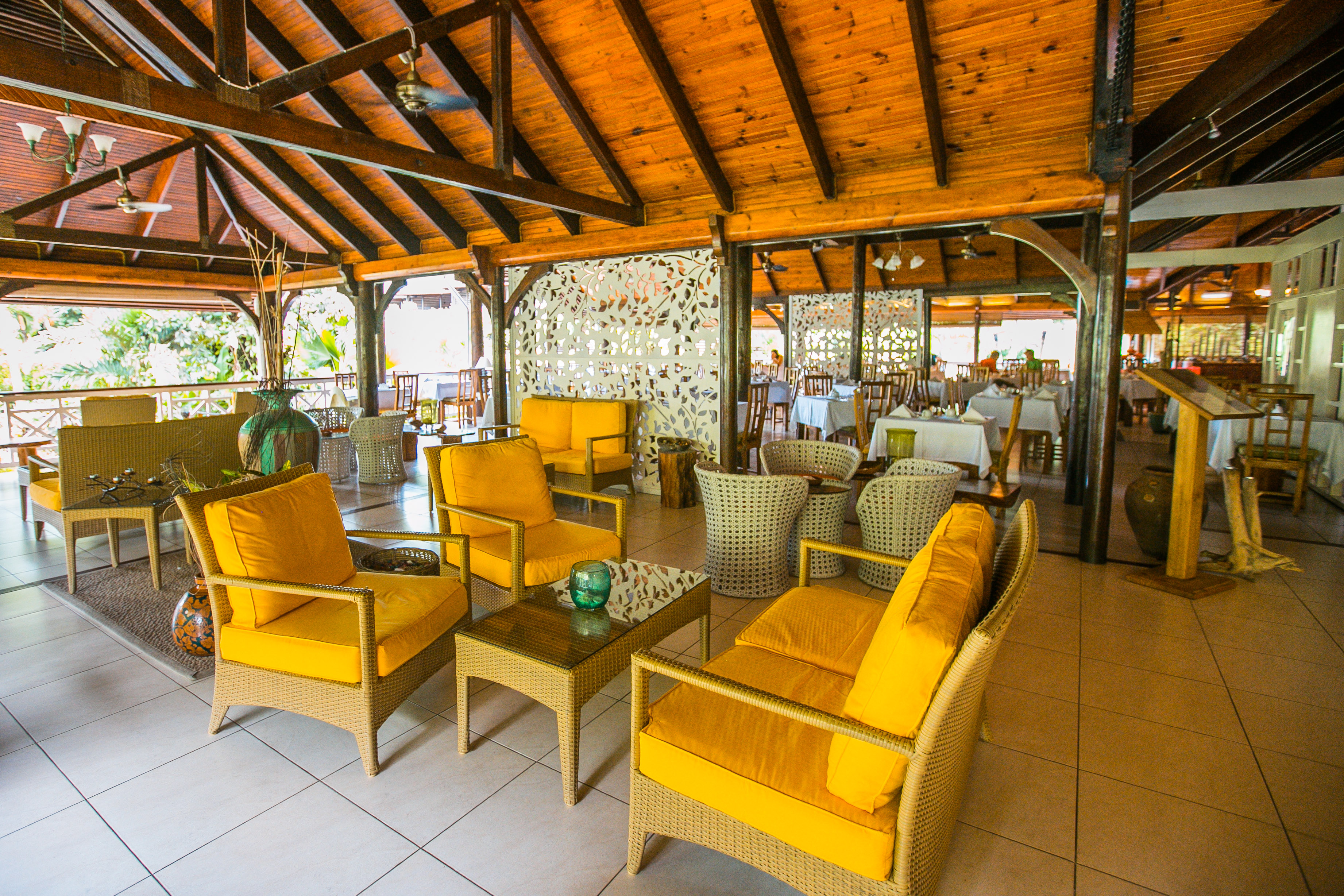 Acajou Beach Resort Praslin Seychellen