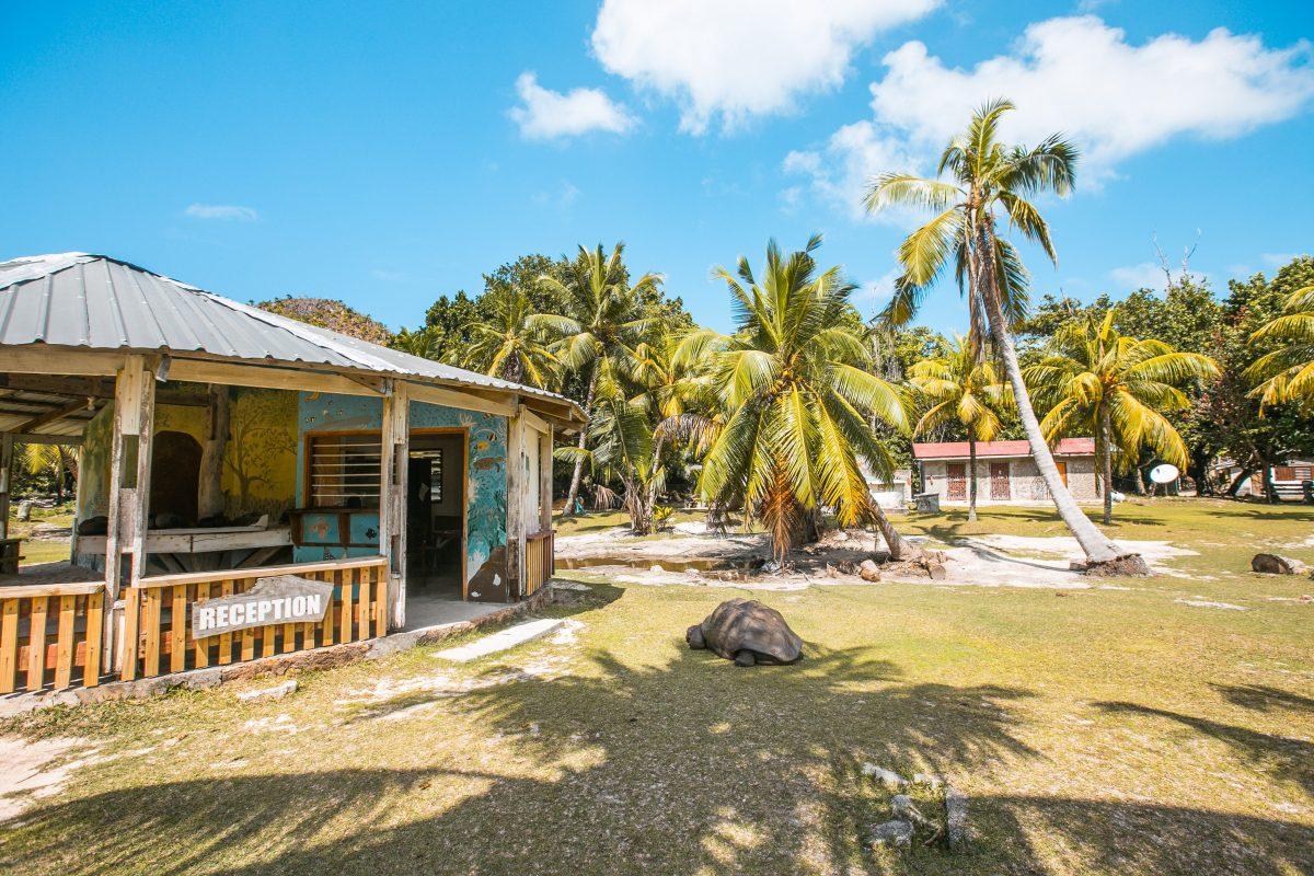 Die Inseln der Seychellen, Curieuse