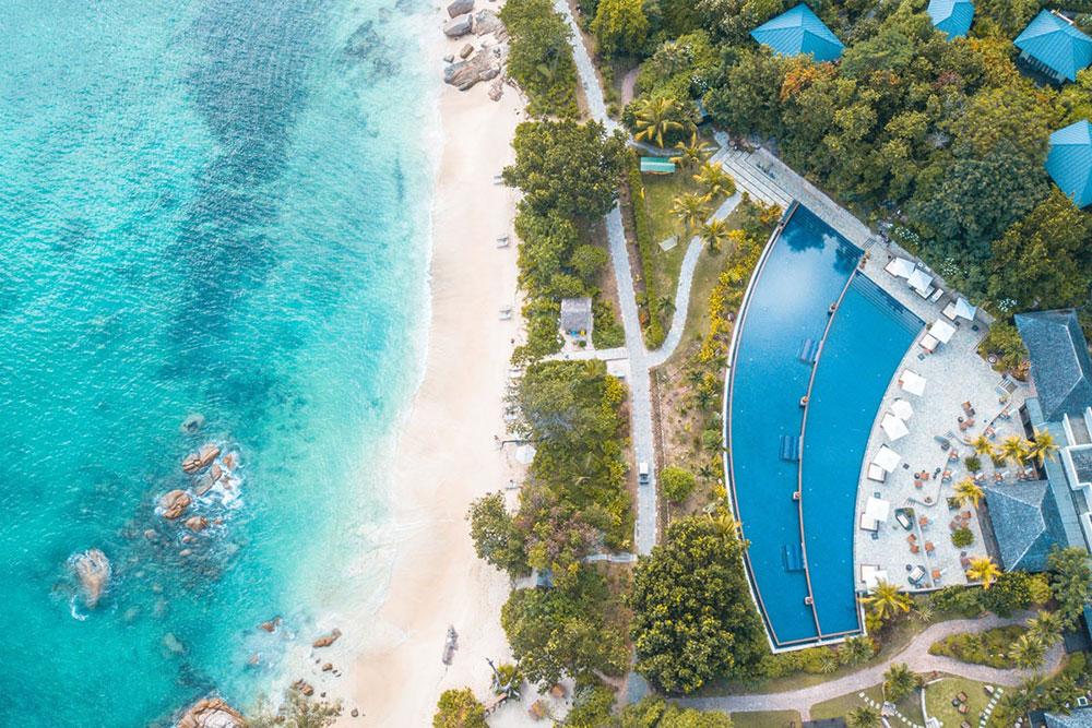 Raffles Praslin Seychellen, Hoteltest
