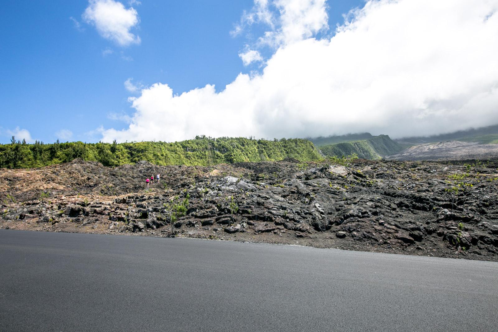 La Réunion Sehenswürdigkeiten, La Réunion Highlights, Coulee de lava