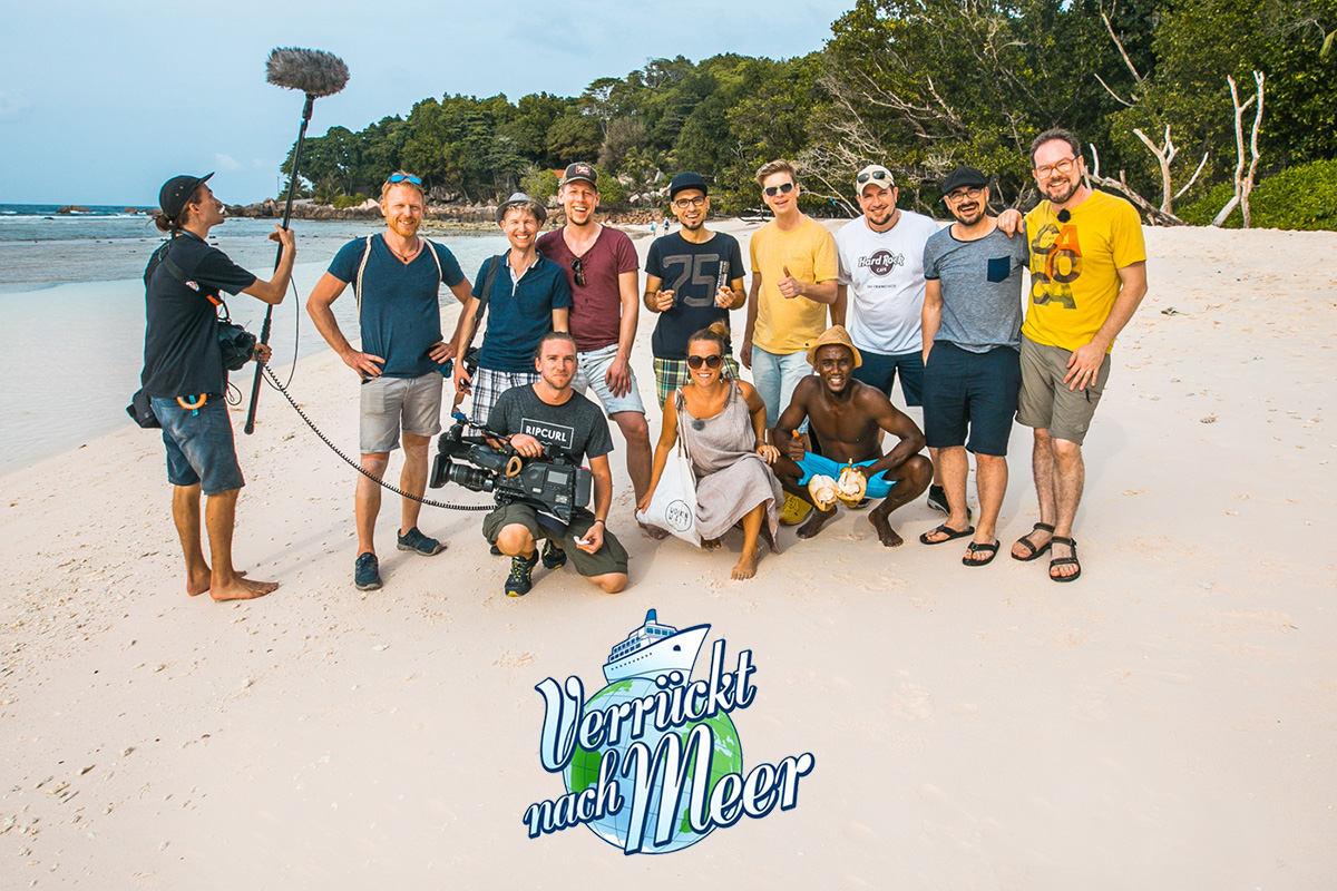 Verrückt nach Meer, Seychellen, Bewegte Zeiten Filmproduktion, Viva Voce, ARD, BR, Reiseserie