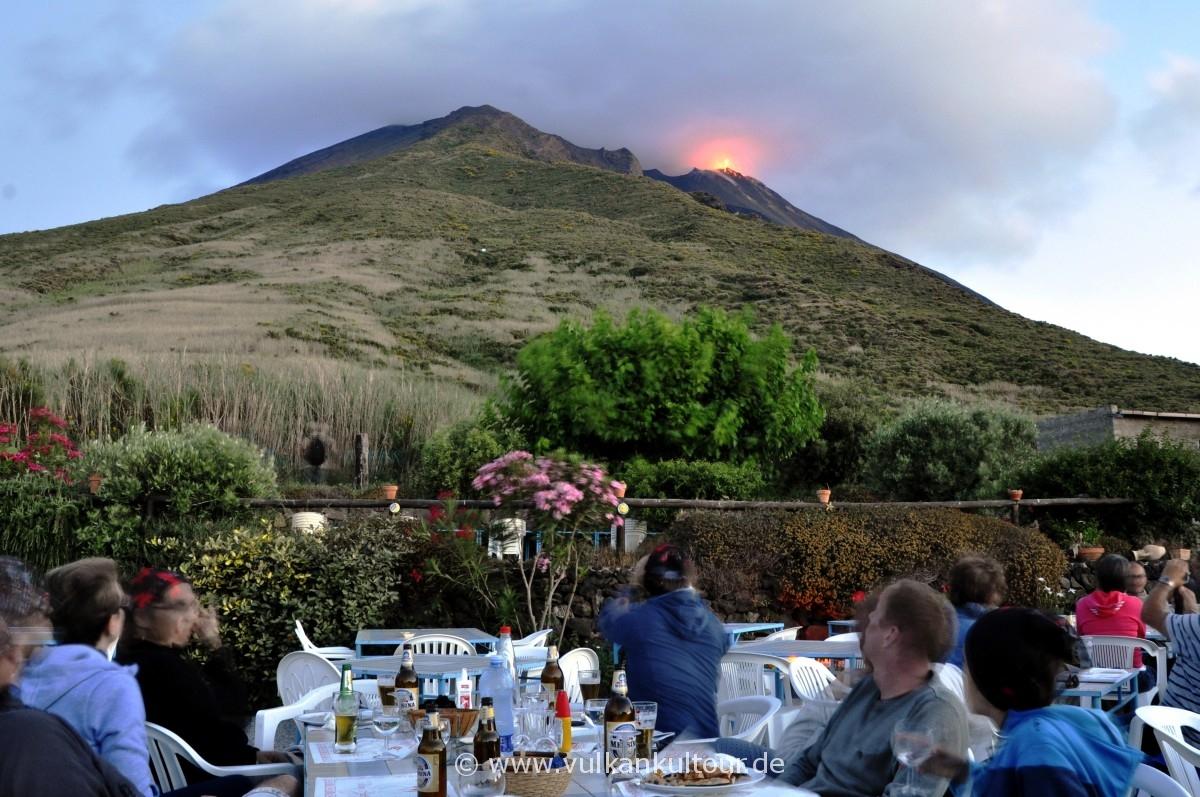 Ristorante Osservatorio, Stromboli Vulkan, Restaurants
