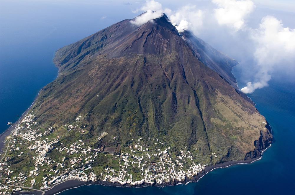 Stromboli Vulkan