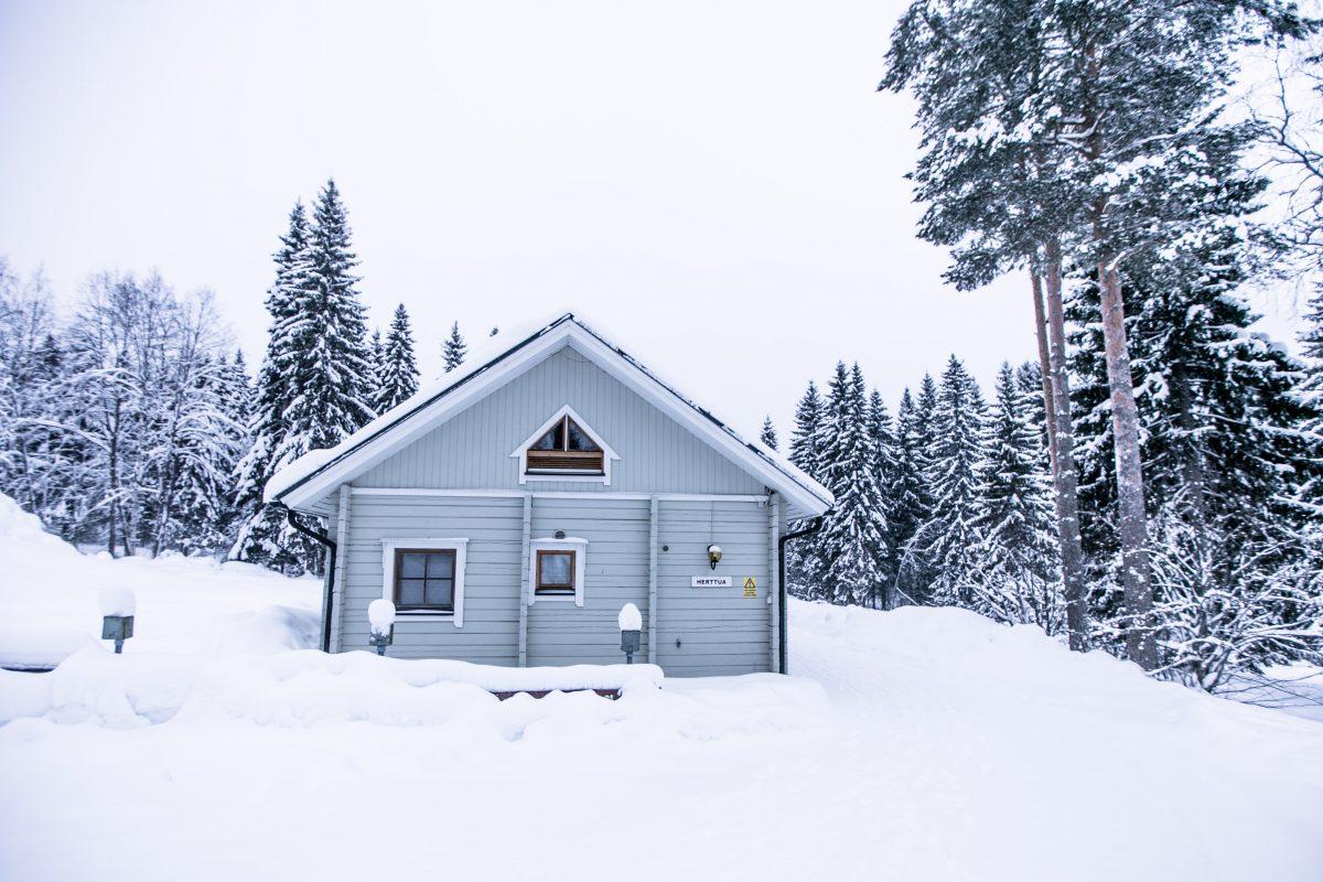 Vuokatinmaa Cottages, Unterkunft Finnland, Vuokatti