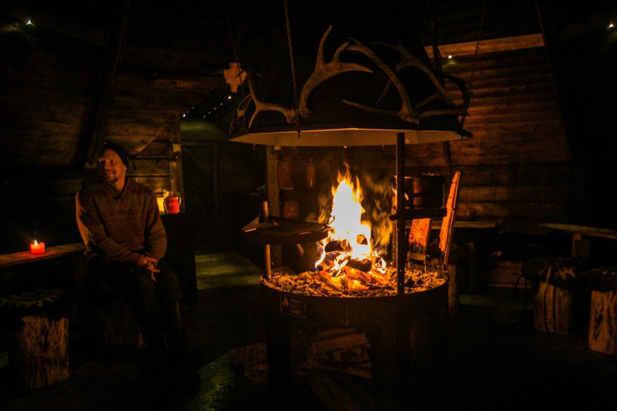 Koliactiv Oy, Dinner Lachs, Flammlachs, Finnland Tipps, Winter, Koli