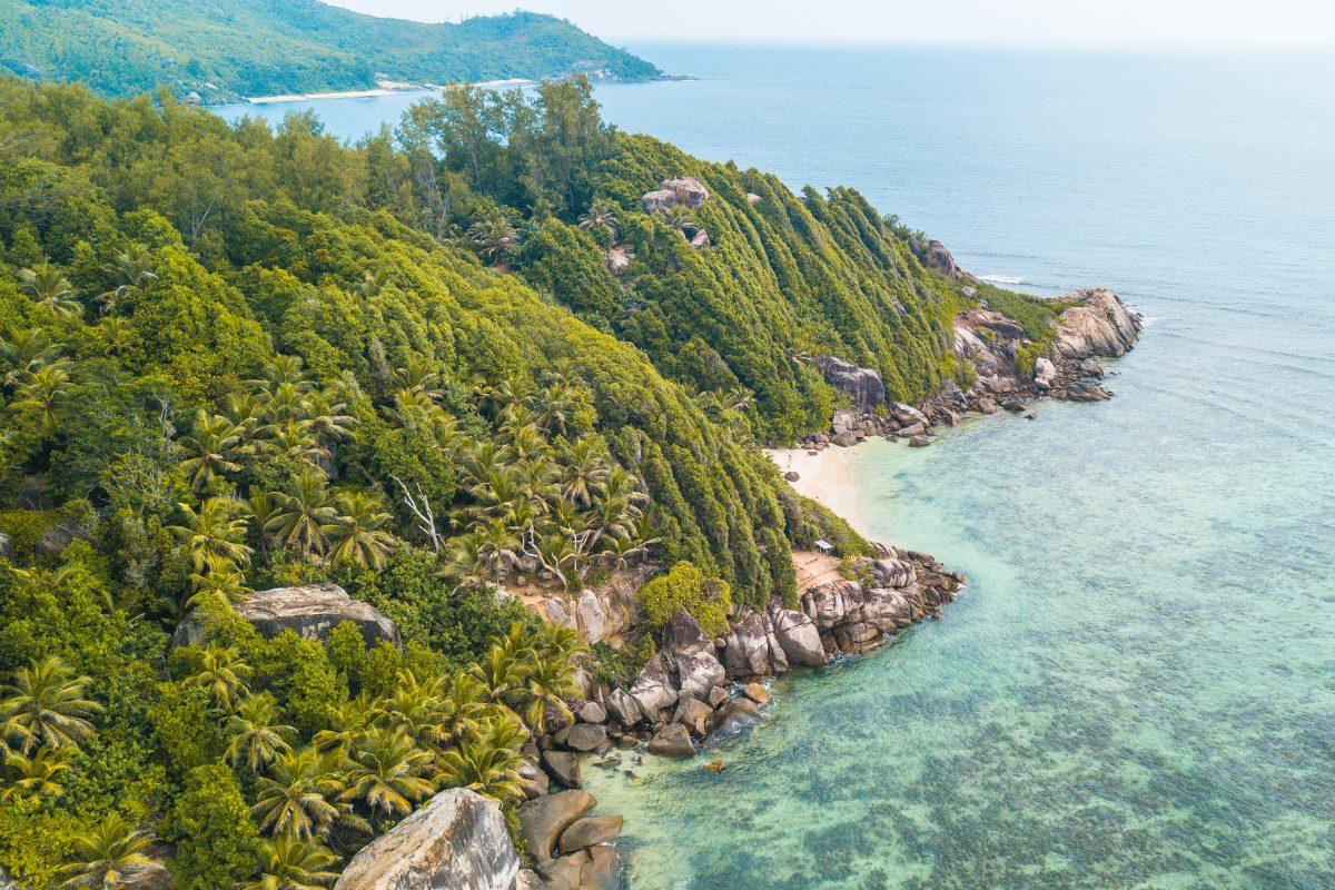 Moyenne, Sainte Anne Marine Park, Seychellen