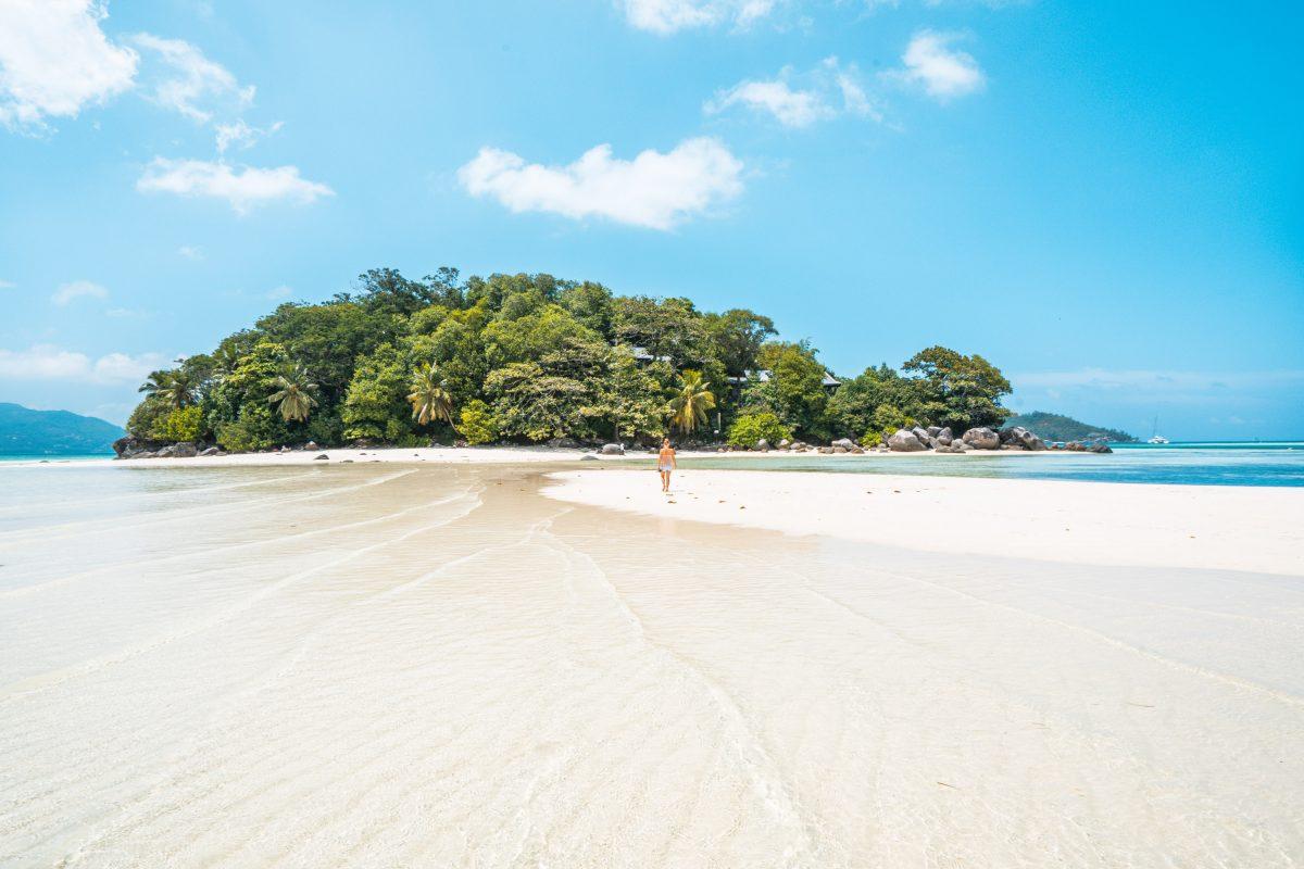 Sainte Anne marine Nationalpark, Round Island, Seychellen