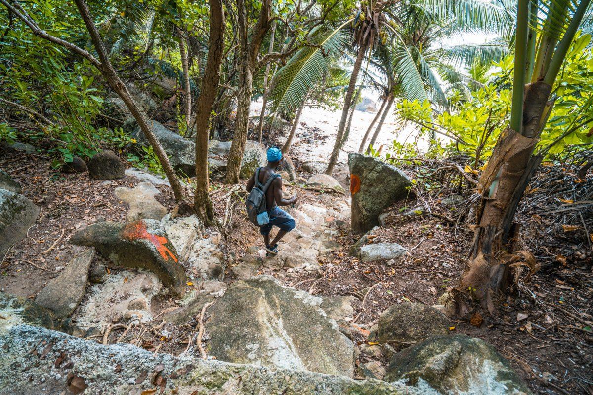 Moyenne Island, Seychellen, Sainte Anne Marine Park