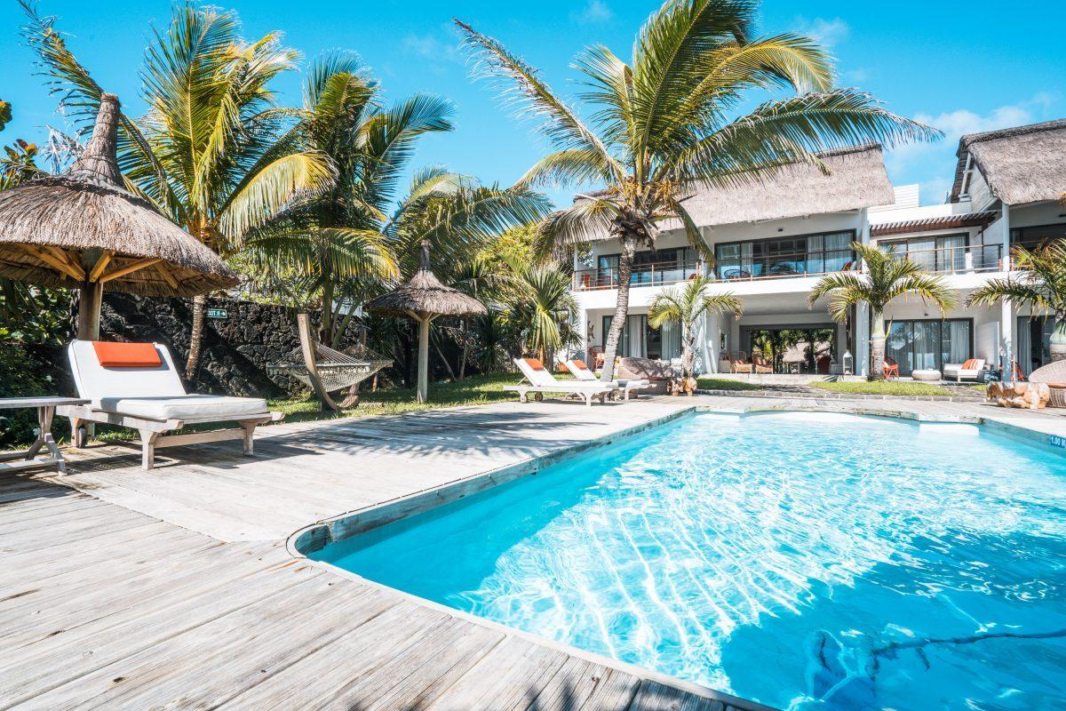 La Maison d'Eté, Mauritius, Unterkunft