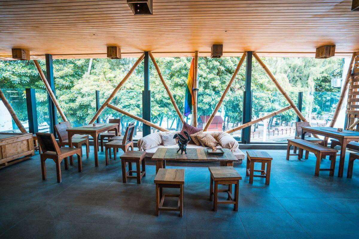 Grand Baie, MAuritius, ilot Café