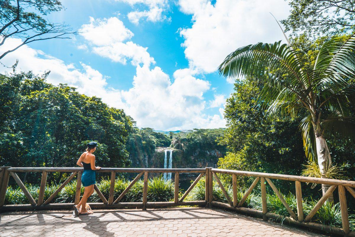 Chamarel Wasserfall Mauritius, Mauritius Roadtrip, Rundreise, Tipps