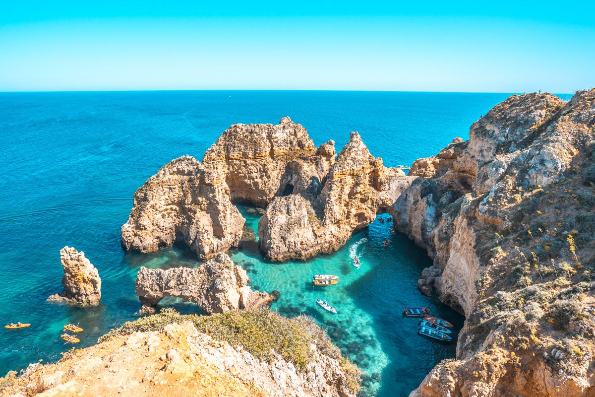 Ponta da Piedade, Algarve, Portugal, Algarve Sehenswürdigkeiten, Algarve interessante Orte, schönste Orte