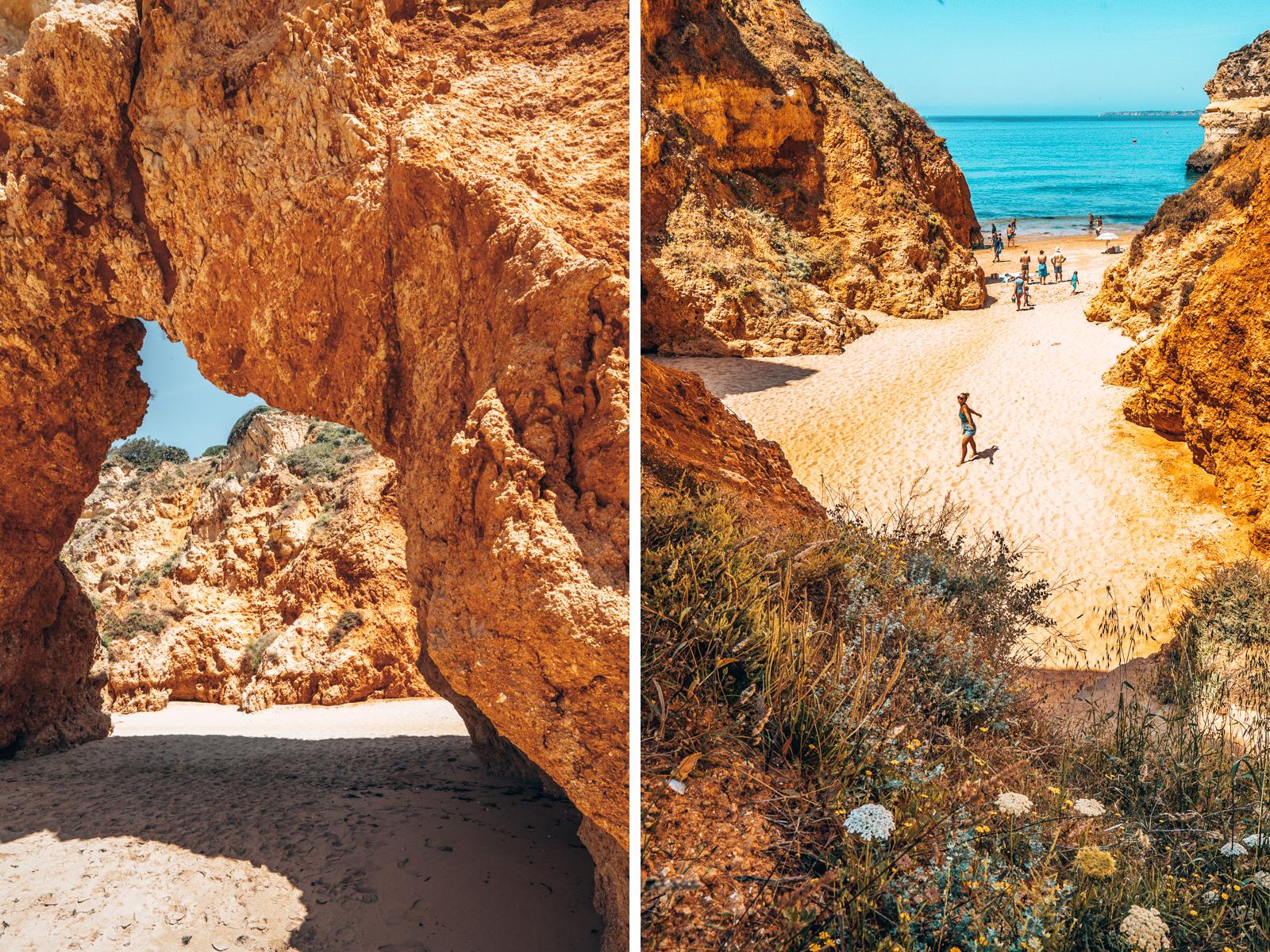 Praia dos Três Irmãos, Algarve, Portugal, Algarve Sehenswürdigkeiten, Algarve interessante Orte, schönste Orte