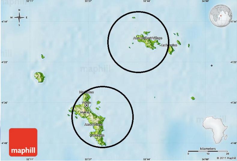 Drohne fliegen Seychellen