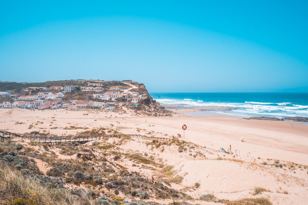 Praia de Monte Clerigo, Algarve Tipps, schönsten Strände, sehenswürdigkeiten