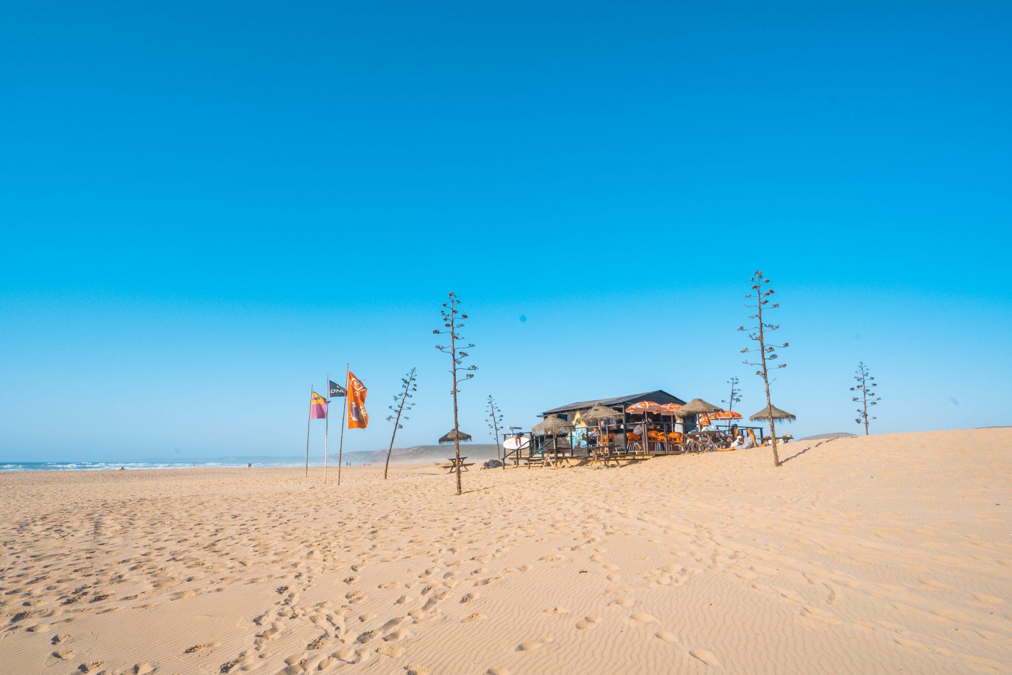 Praia da Bordeira, Algarve Tipps, schönsten Strände in Portugal, Strandbar