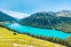 Vernagt See, Schnalstal, Südtirol, Ausflug von Lana